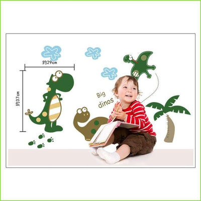 Large Dino Wall Stickers on WallStickersForKids
