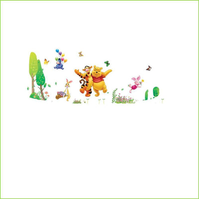 Winnie the Pooh Wall Decal on WallStickersForKids