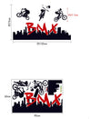 BMX Biker Wall Stickers For Kids