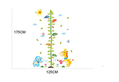 Animal Leaf Height Chart