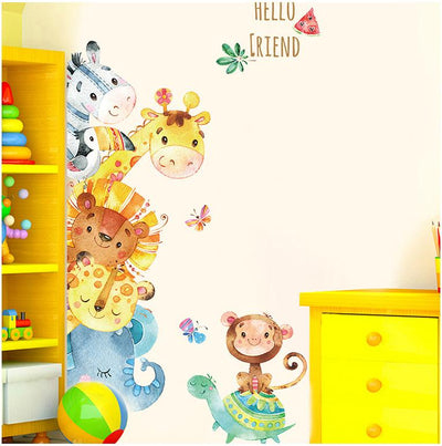 Fun Colour Animals Stickers