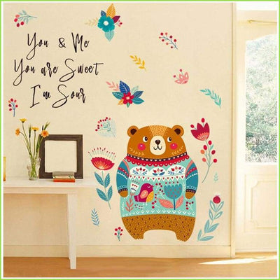 Big Bear Colour Wall Decals - Decals
