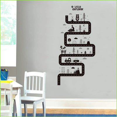 Little Explorer Track Wall Decal Wallstickersforkids.ie