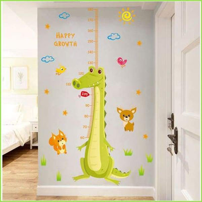 Dinosaur Height Chart Decals - Decals