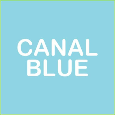 Large Raindrop Wall Stickers - Canal Blue
