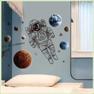 Spaceman Astronaut Wall Stickers - Decals