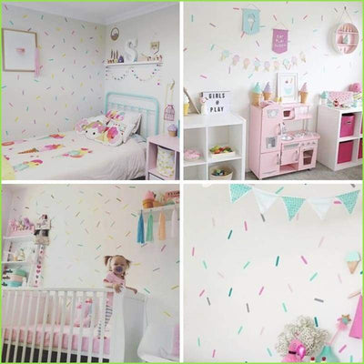 Sprinkles Wall Decals