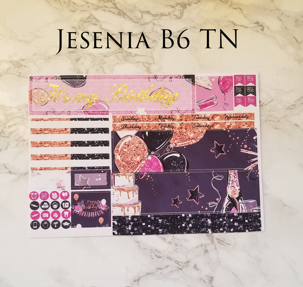 Jesenia B6 TN Birthday Monthly
