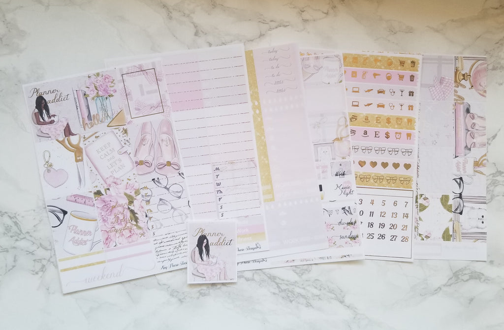 Planner Addict  Foiled Full Kit