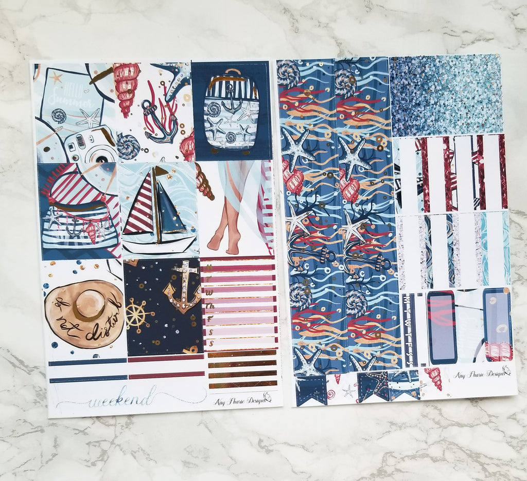 Nautical Foiled Basics Kit