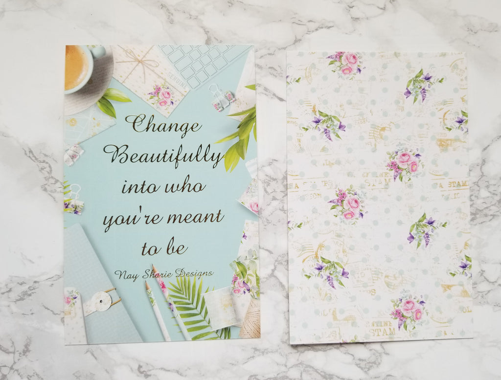 Nay Sharie Designs Journaling Cards