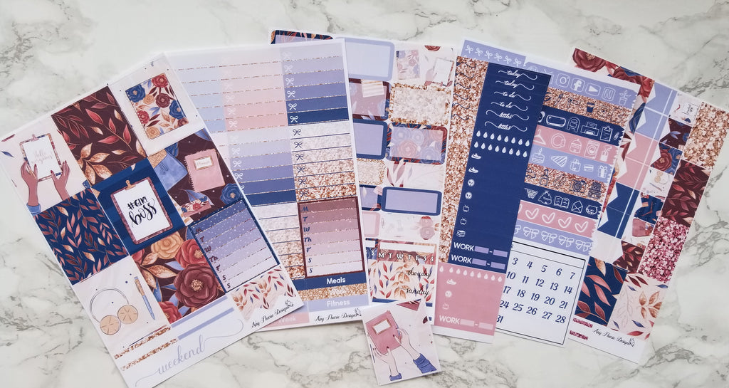 Fall Planner Girl Full Kit