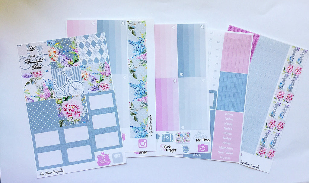 Life's Ride Horizontal Memory Planning Kit for the Horizontal Erin Condren