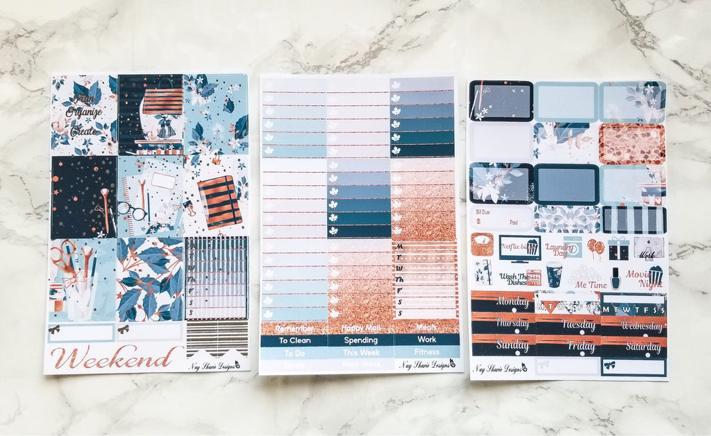 Plan Organize Create Foiled Full Kit