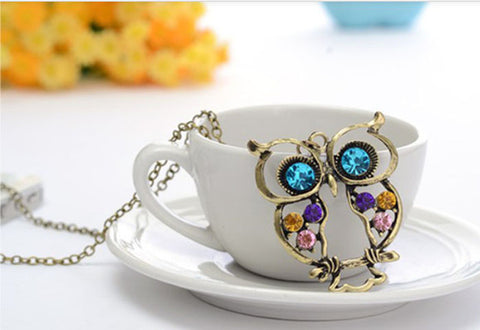 FREE Vintage Owl Necklace