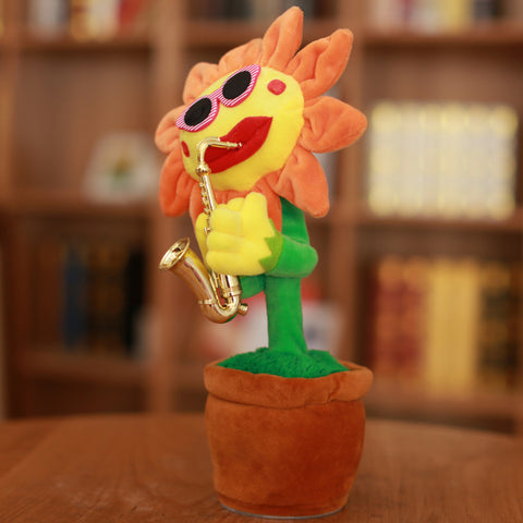 Singing & Dancing Sunflower Toy