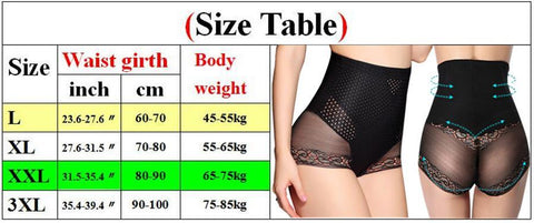 High Waist Tummy Control Panties