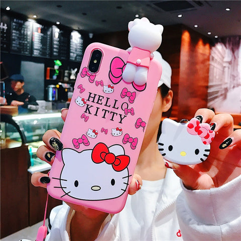 Image of Hello Kitty iPhone Case