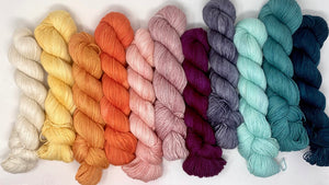 French Dispatch inspired Mini Skein Set