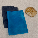 Hand Dyed Silk mask kit - ready for assembly