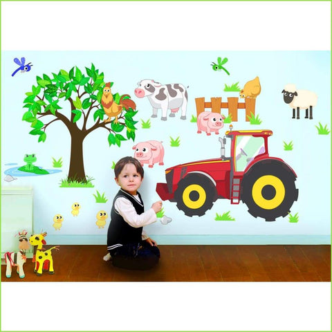 Tractor Farm Kids Rooms