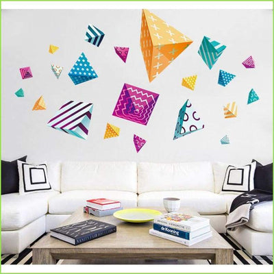 Feature Shapes Wall Stickers - Decals
