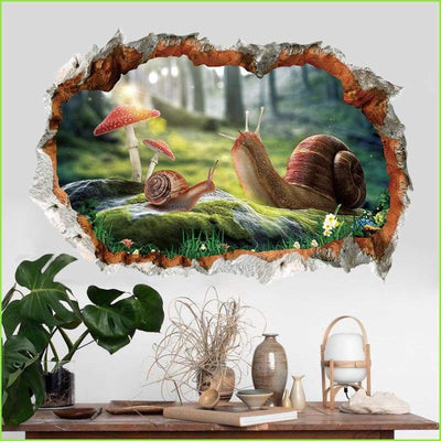 3D Kids Wall Stickers