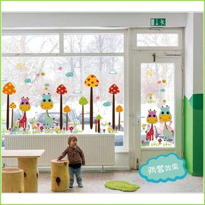Happy Giraffe Wall Sticker on WallStickersForKids