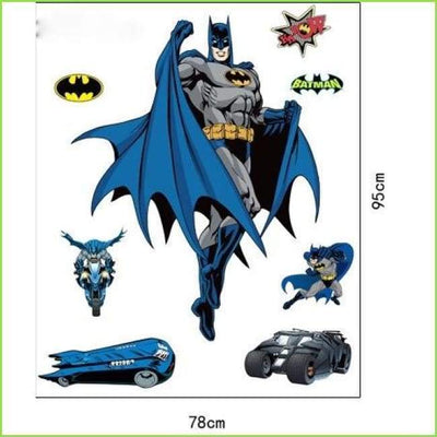 Batman Kids Wall Stickers on WallStickersForKids