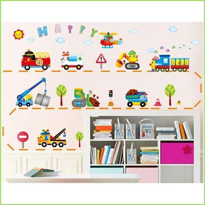 Boys Toys Wall Stickers Decals on WallStickersForKids