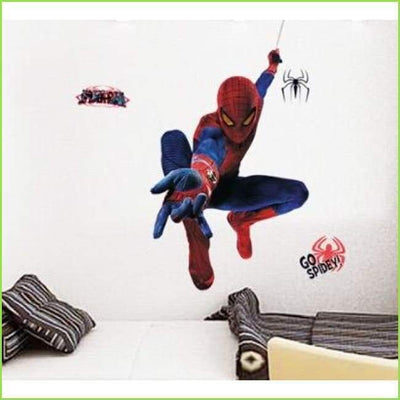 Go Spidey Spiderman Wall Sticker on WallStickersForKids