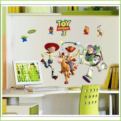 Toy Story Wall Art Decal on WallStickersForKids