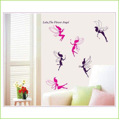 Deluxe Fairies Wall Art Decals on WallStickersForKids