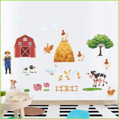 Farm Wall Stickers on WallStickersForKids