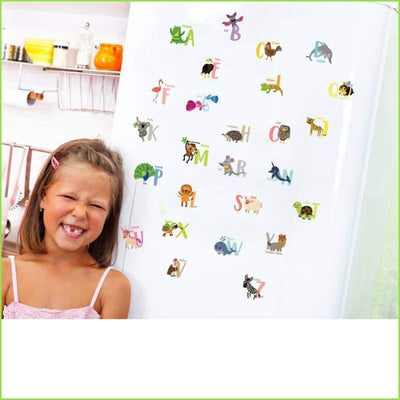 Alphabet Animals Wall Decal Stickers on WallStickersForKids