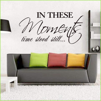 In These Moments Wall Quote on WallStickersForKids