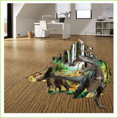 Dinosaur Planet Wall Sticker on WallStickersForKids