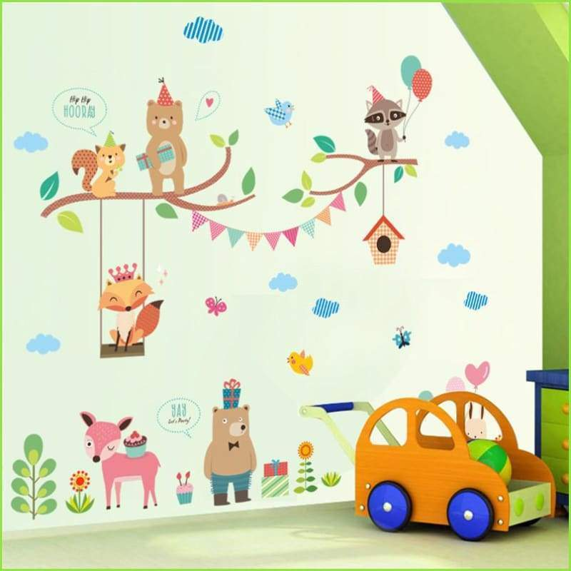 Kids Bedroom Wall Decals, Childrens Bedroom Wall Stickers Removable