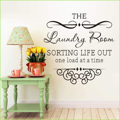 Laundry Room Wall Decals on WallStickersForKids