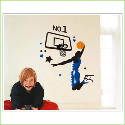 Basketball Champions Wall Decal - Decals