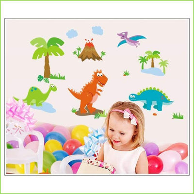 World Of Dinosaurs Wall Sticker - Stickers