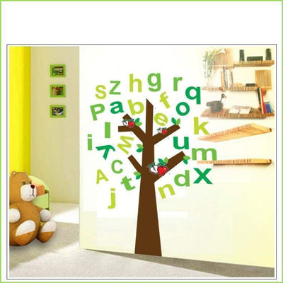Alphabet Tree Wall Sticker - Sticker