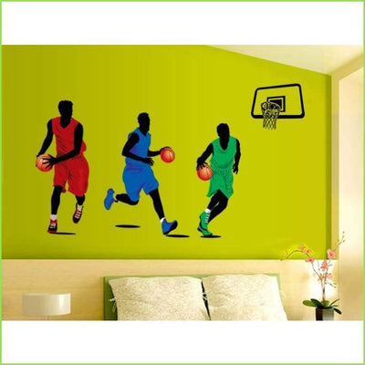 Basketball Wall Decals - Decals