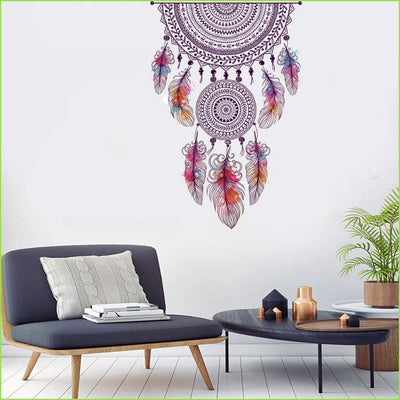Dream Catcher Wall Sticker - Sticker