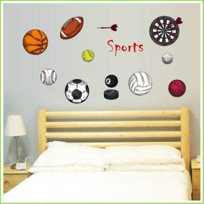 Sports Wall Decal - Decals