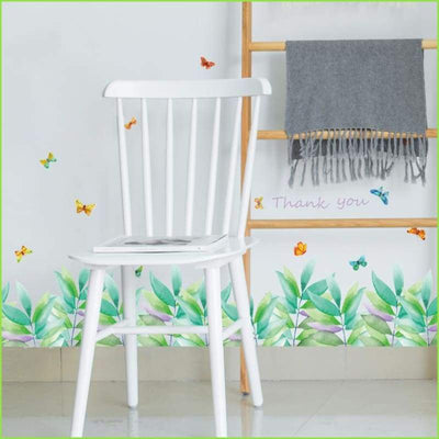 Watercolour Skirting Board Decal - Decals