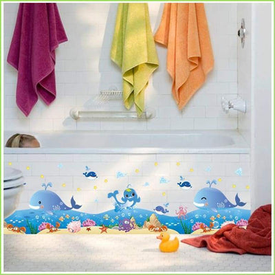 Dolphin Wall Stickers - Sticker