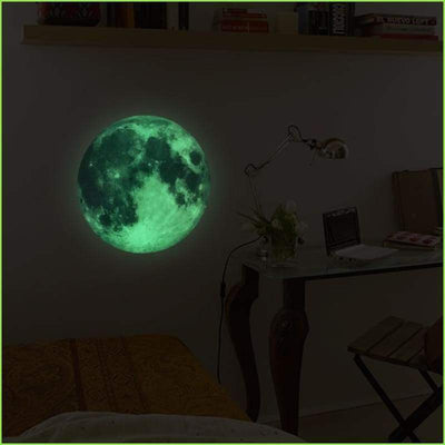 Glowing World Wall Sticker - Stickers