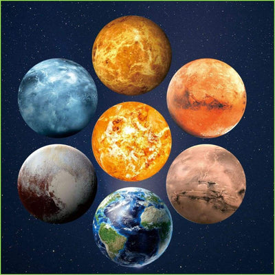Large Space Planets - Decals