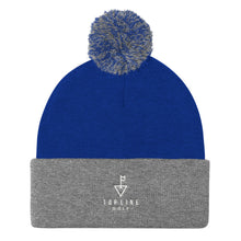 Load image into Gallery viewer, Topline Golf Logo Pom Knit Cap